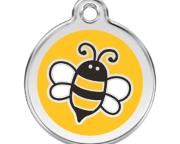Méhecskés kutyabiléta - sárga